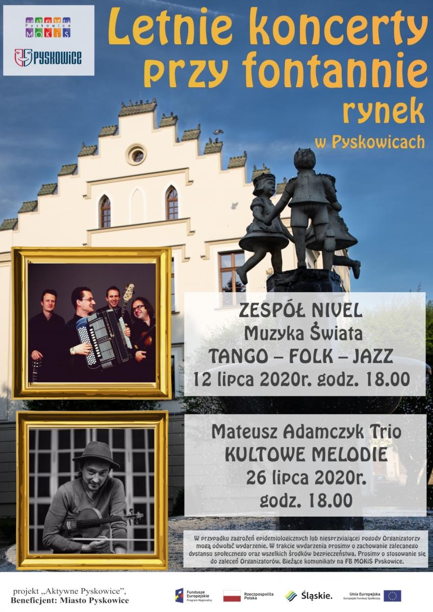 letnie-koncerty-przy-fontannie-pyskowice-rynek-nivel-2020
